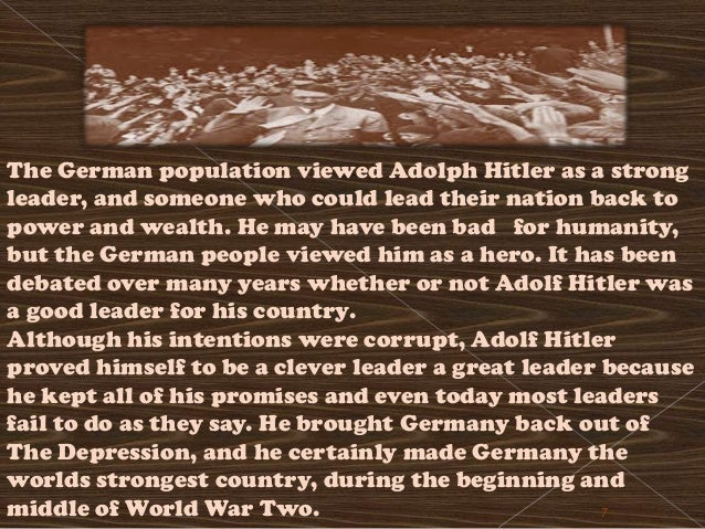 an analysis of the beginning of adolf hitler Psychological analysis of hitler: inside the mind of adolf hitler bbc documentary on walter langer's psycholological analysis of hitler.