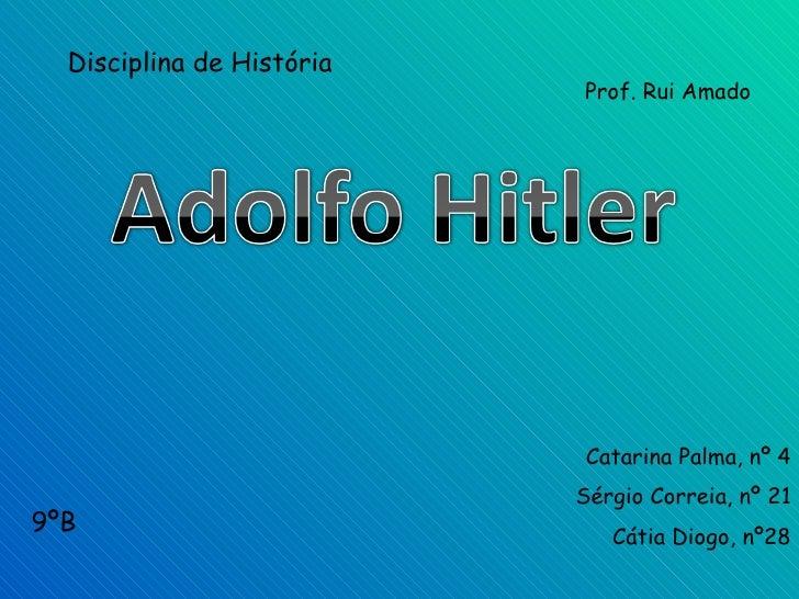 Disciplina de História                            Prof. Rui Amado                                Catarina Palma, nº 4     ...