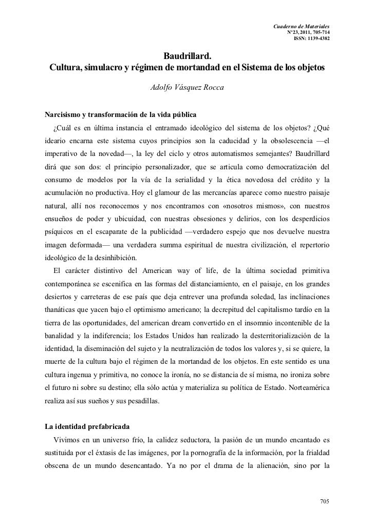 Cuaderno de Materiales                                                                                   Nº23, 2011, 705-7...