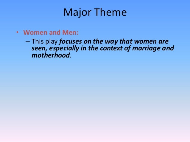 An analysis of the themes in a dolls house by henrik ibsen