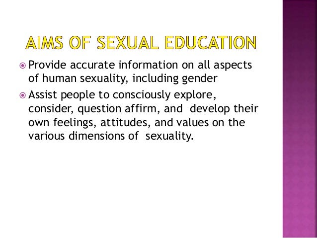 importance of sex education Sex education has always been considered a taboo and it is time our society realizes the importance it holds in raising better individuals.