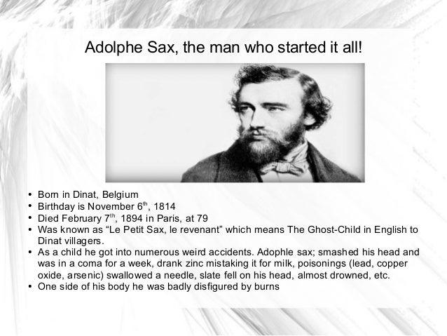 adolphe sax history