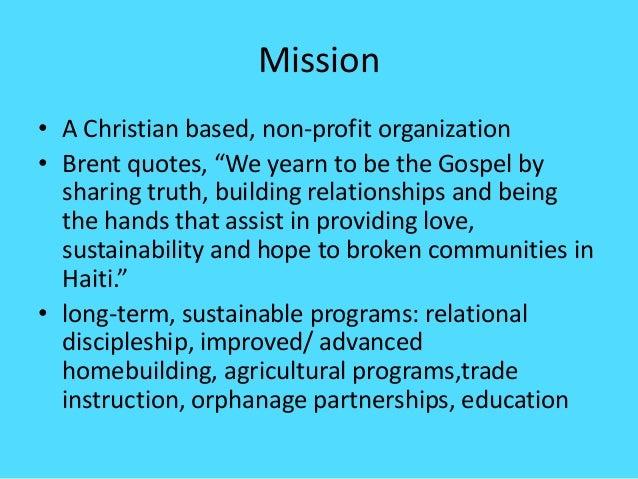 Mission ...  sc 1 st  SlideShare & A door to hope