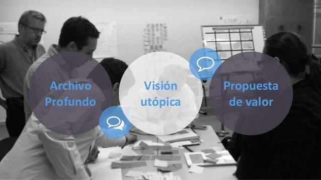 """Archivo  Profundo  """"  Visión  utópica  0  Propuesta  de  valor"""