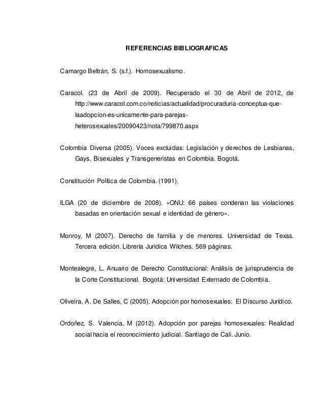Corte constitucional adopcion homosexual statistics