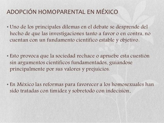 Union civil homosexual argumentos a favor