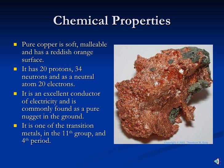 Gold Physical Properties And Chemical Properties