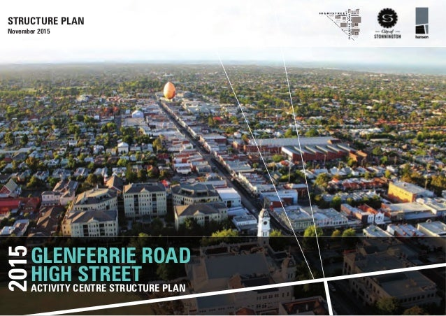 Adopted Glenferrie Road And High Street Structure Plan