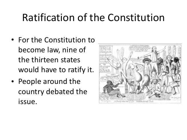 a series of essays supporting the ratification of the constitution Below is an essay on the ratification from anti essays, your source for research papers, essays, and term paper examples the ratification the ratification, or adoption, of the constitution took place between september of 1787 and july of 1788.