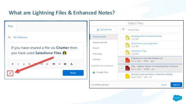 Adopting Files and Enhanced Notes in Lightning Experience
