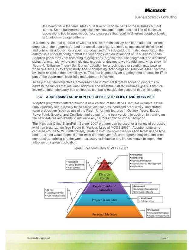 Adoption whitepaper Change Management Microsoft Business