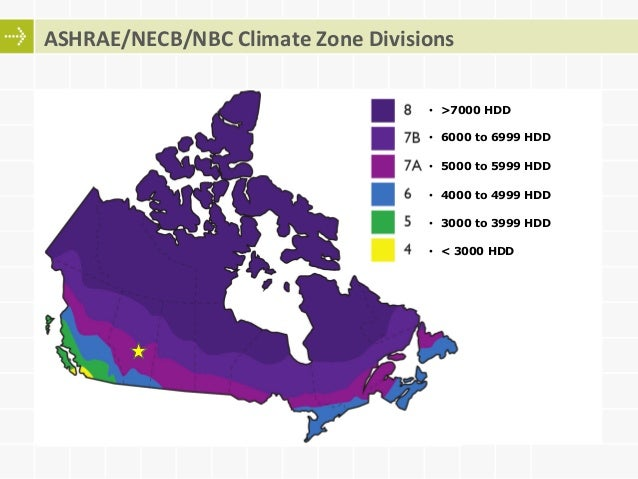Adoption And Compliance With Energy Codes ASHRAE And NECB - Ashrae climate zone map