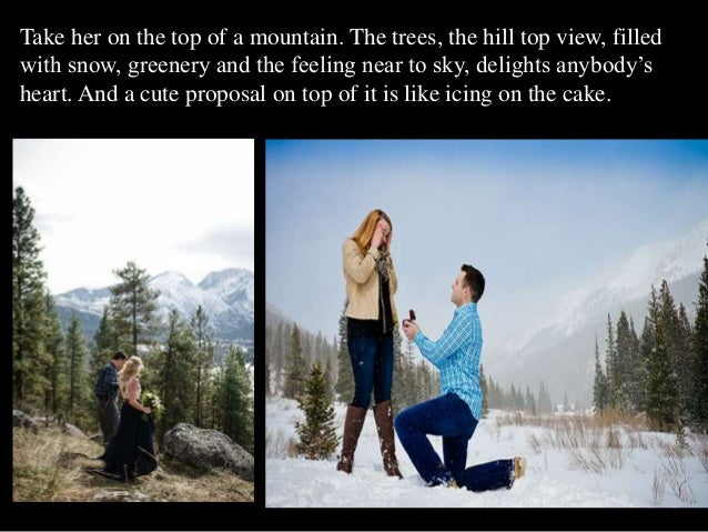 adorable marriage proposal ideas