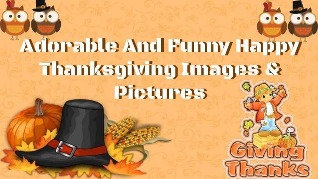 Adorable And Funny Happy Thanksgiving Images Pictures