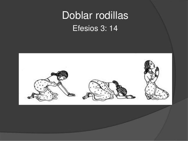 Postrar  Apocalipsis 11: 16  *Postrarse: Inclinar el rostro hasta el suelo.