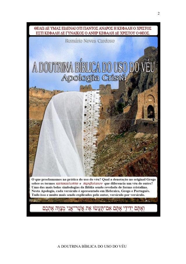 2A DOUTRINA BÍBLICA DO USO DO VÉU
