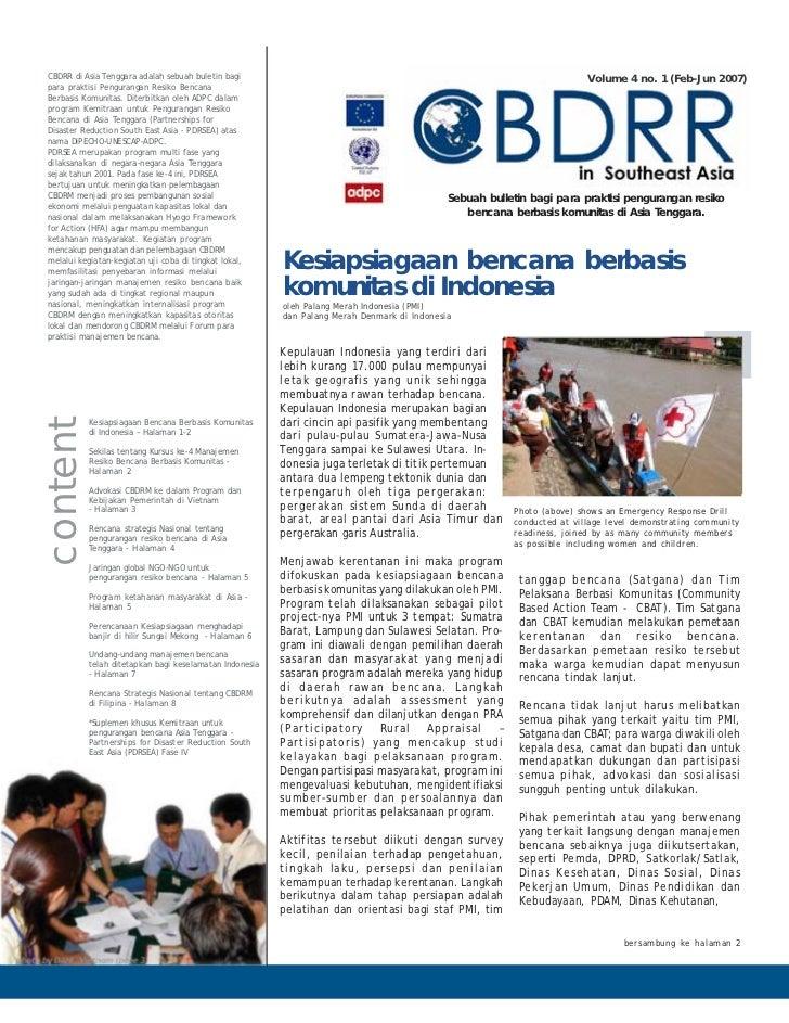 CBDRR di Asia Tenggara adalah sebuah buletin bagi                                                                        V...