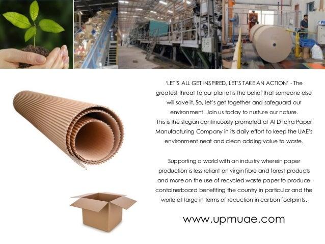 Paper Mill Factory Abu Dhabi