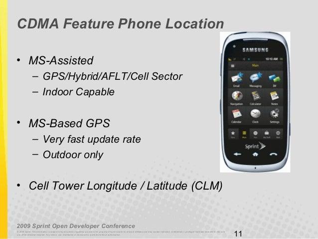 use gps to track sprint phone