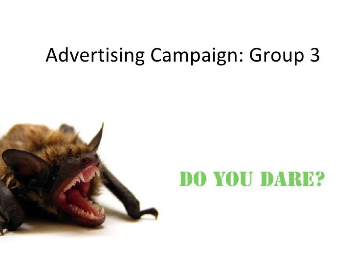 Advertising Campaign: Group 3