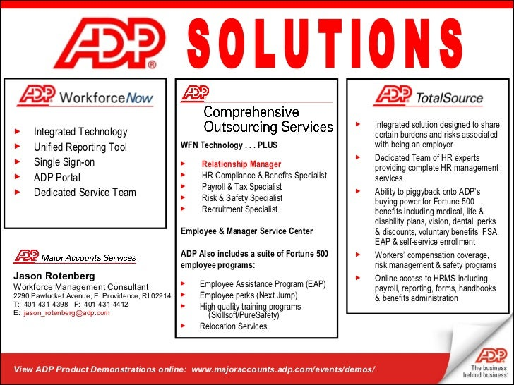 Login & Support | ADP Products and Services