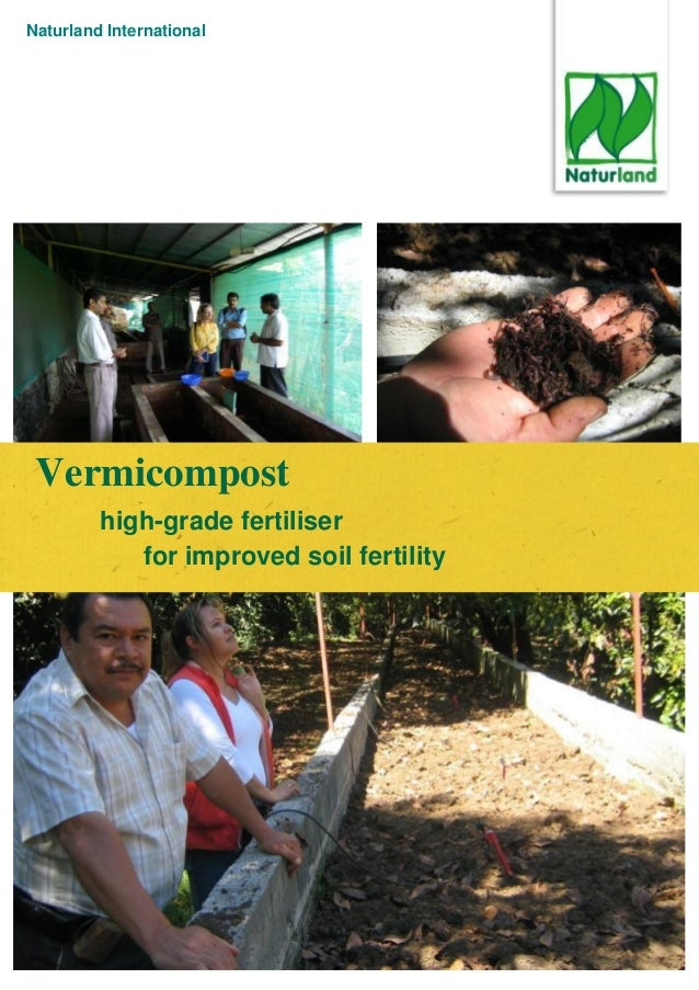 Naturland International Vermicompost high-grade fertiliser for improved soil fertility