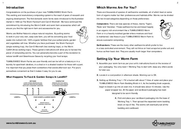 can o worms instruction manual