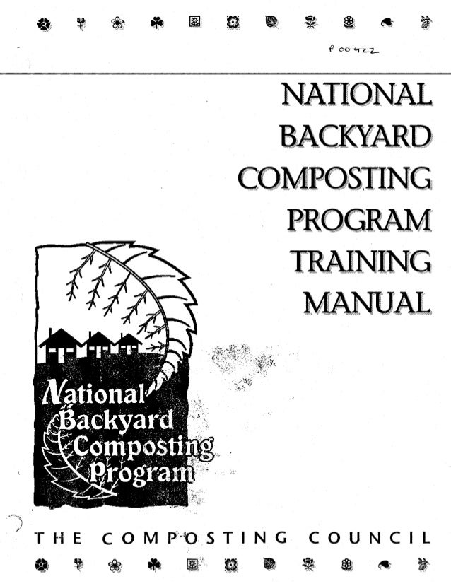 The Composting Council's National Backyard Composting Program