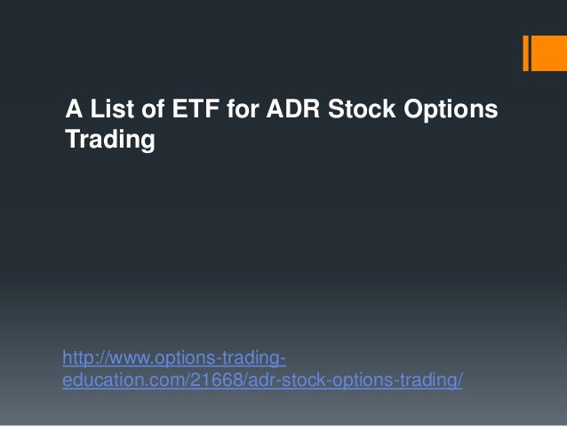 List of exchange traded options australia