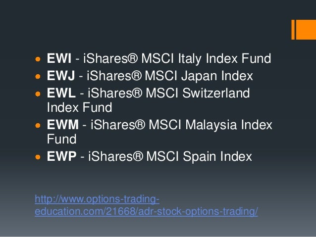 Where are stock options traded