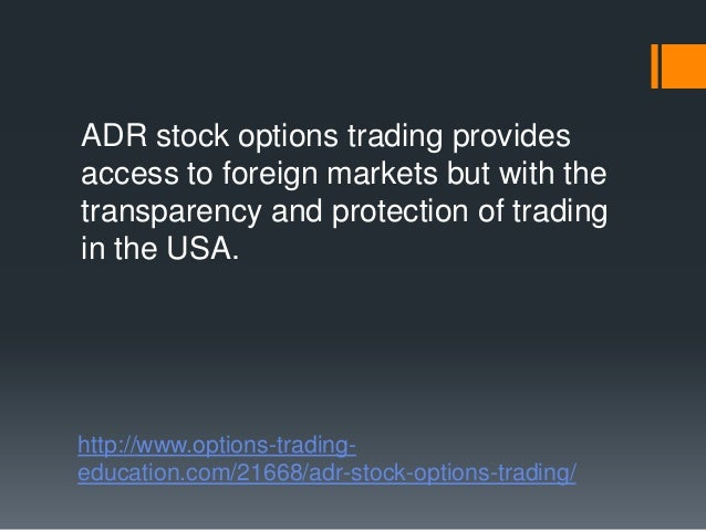 Stock options trading videos