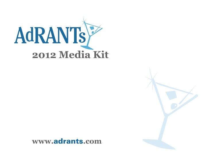 Adrants Media Kit 2012