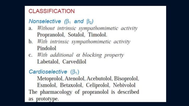 Cardioselective (Selective β1) β-Blockers [Also known as second generation β-blockers) The drugs can be remembered as: