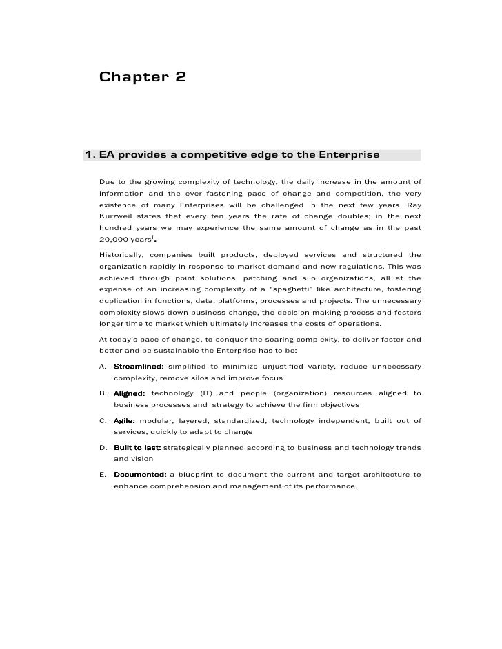 Book extracts an enterprise architecture development framework 13 malvernweather Choice Image