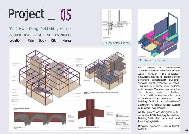 best architect portfolio pdf