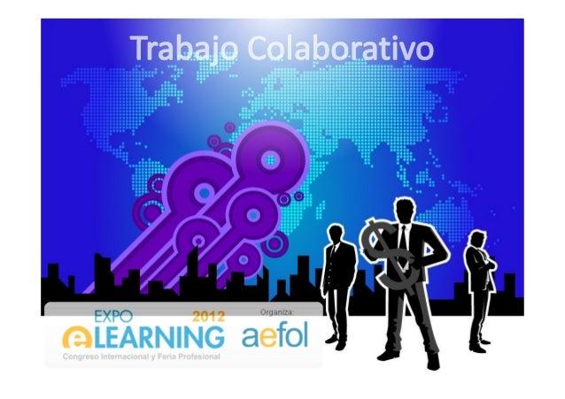 """""""Trabajo colaborativo, Inteligencia colectiva y Gestión de proyectos en Medios Digitales: Plataformas de Gestión e-learning"""" Slide 3"""