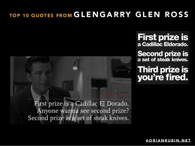 glengarry glen ross and death of The tomatometer score — based on the opinions of hundreds of film and television critics — is a trusted measurement of critical recommendation for millions of fans.