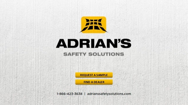 Adrian's Safety Solutions - Pallet Rack Safety Products Overview