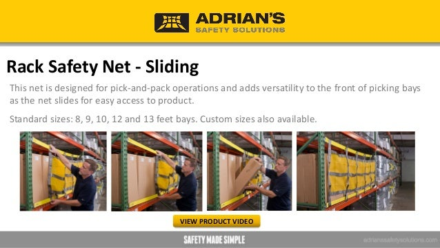 Catch Net Designed for walkway and work area protection, the Catch Net modular safety netting system keeps loose items in ...