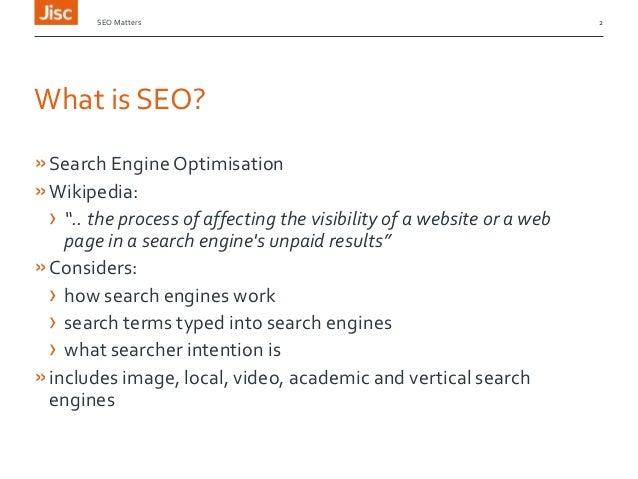 SEO Matters Slide 2