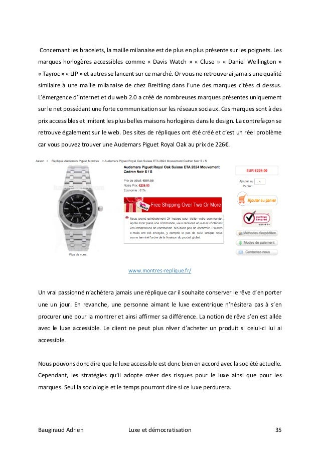 Luxe et Démocratisation - Adrien Baugiraud e22ca0f3e9d