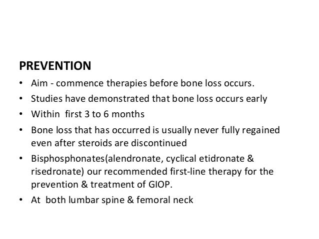 PREVENTION & MANAGEMENT OF SIDE EFFECTS OF SYSTEMIC STEROIDS