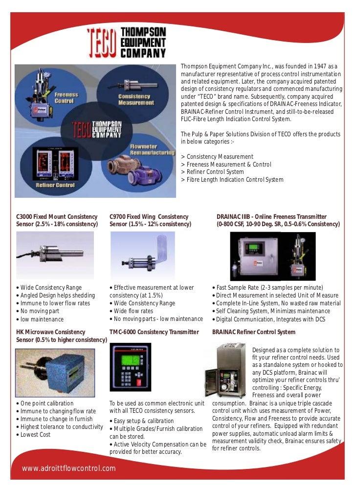 Adroitt Flow Control Product Catalogue