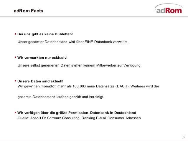adRom E-Mail Media Marketing Experten Bericht