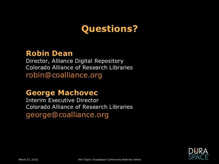 adr research topics