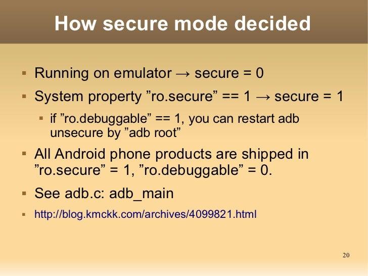 ADB(Android Debug Bridge): How it works?