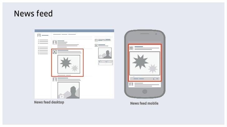 News feed    News feed desktop   News feed mobile