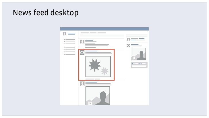 News feed desktop