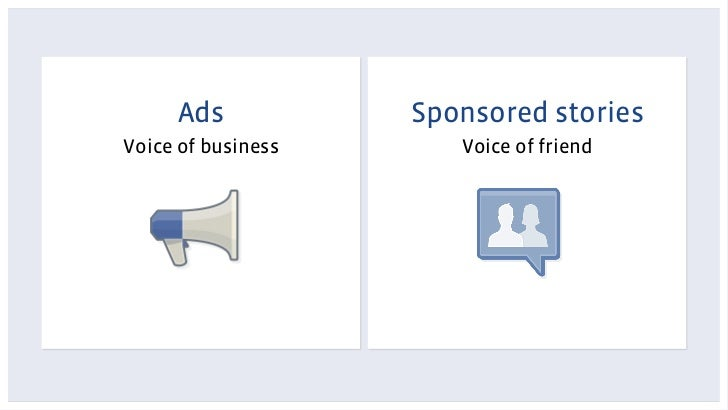 Ads            Sponsored storiesVoice of business      Voice of friend