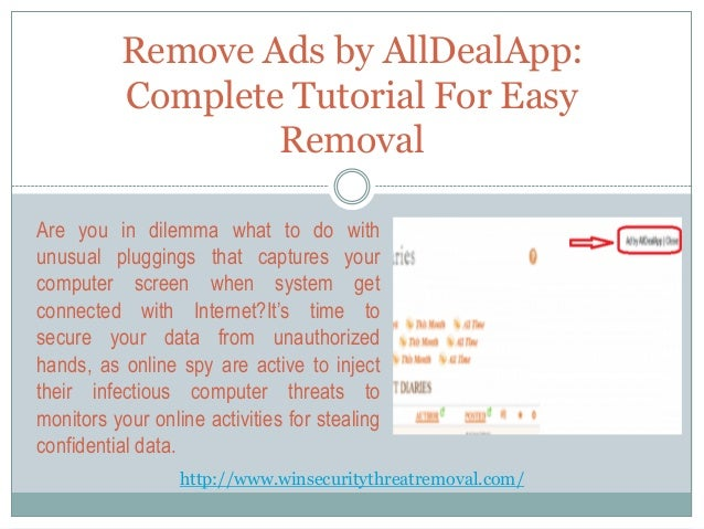 active deals ads remove